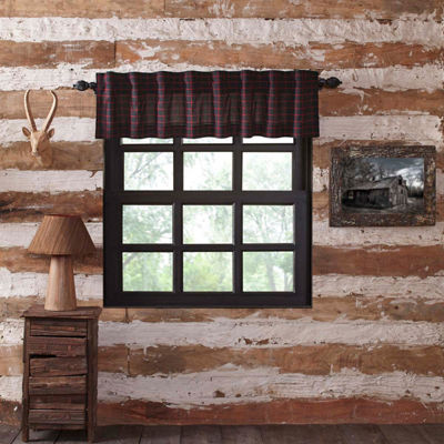 Rustic & Lodge Window Glennock Plaid Valance