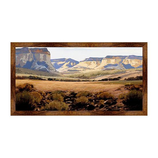 Great Plain Framed Canvas Art