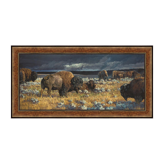 Restless Framed Canvas Art