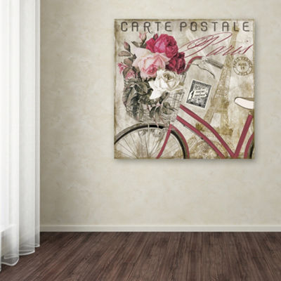 Trademark Fine Art Color Bakery Postale Paris I Giclee Canvas Art