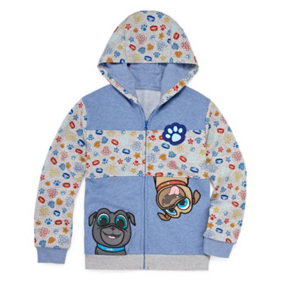 Disney Fleece Hooded Puppy Dog Pals Midweight Jacket-Big Kid Boys