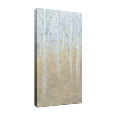 Silver Waters Panel I Canvas Art
