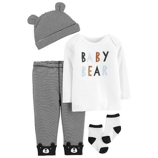 Carter's Boys 4-pc. Baby Clothing Set-Baby
