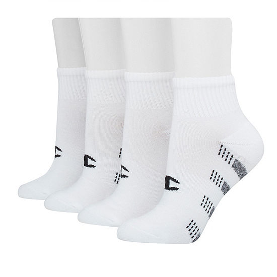 Champion 6 Pair Quarter Socks Womens