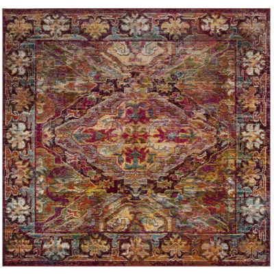 Safavieh Crystal Collection Moira Oriental SquareArea Rug