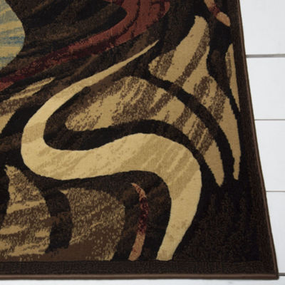 Home Dynamix Catalina Picasso Abstract Rectangular Rug