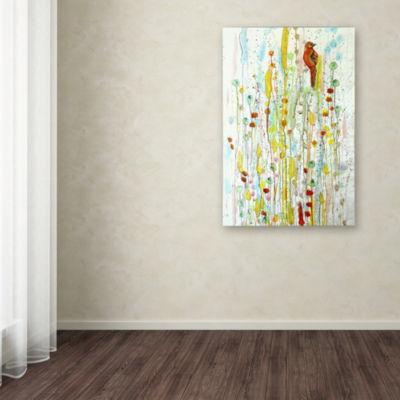Trademark Fine Art Sylvie Demers Pause Giclee Canvas Art