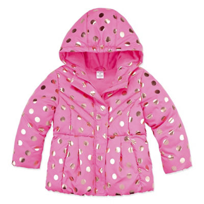 Okie Dokie Heavyweight Puffer Jacket - Toddler Girls