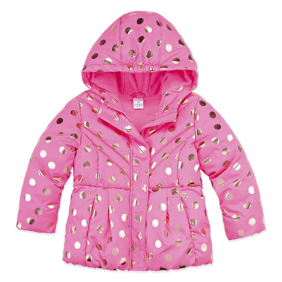 Okie Dokie Heavyweight Puffer Jacket Toddler Girls