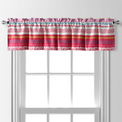 Anna Rod-Pocket Tailored Valance