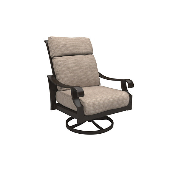 Outdoor by Ashley® Chestnut Ridge Set of 2 Swivel Patio Lounge Chairs with Cushions
