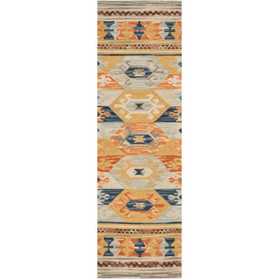 Lisbon Mission Hand Tufted Rectangular Runner and Rugs