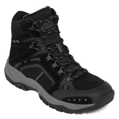 St. John's Bay Mens Cobalt Hiking Flat Heel Lace-up Boots