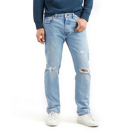 Levi's Mens 501 Straight Regular Fit Jean, 30 34, Blue
