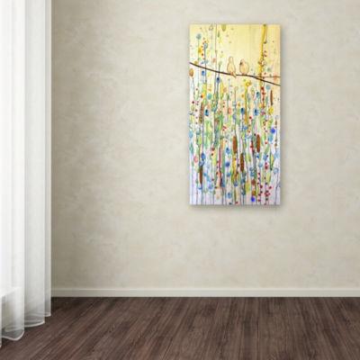 Trademark Fine Art Sylvie Demers Toi Et Moi GicleeCanvas Art