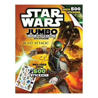 Bendon Star Wars Giant Sticker Activity & Coloring Book