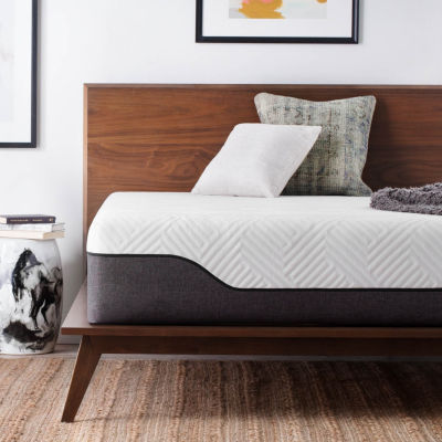 Lucid12 in. Bamboo charcoal and Aloe Vera Hybrid Mattress