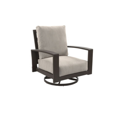 Outdoor by Ashley® Cordova Reef Set of 2 Swivel Patio Chairs