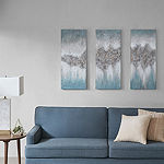 Madison Park Luminous Hand Painted Canvas Wall Art