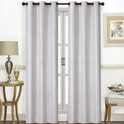 Chandler 2-Pack Grommet-Top Curtain Panel