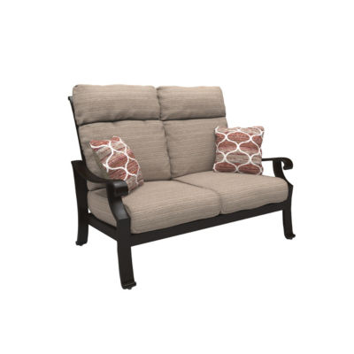 Outdoor by Ashley® Chestnut Ridge Patio Loveseat with Cushion