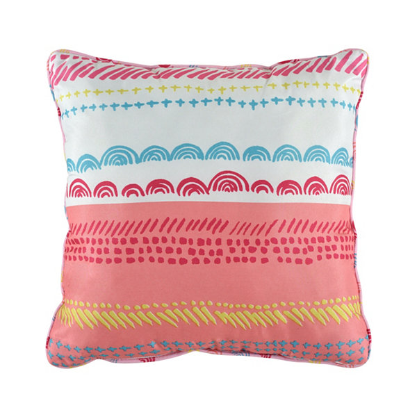Anna Square Throw Pillow