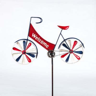 Welcome Bicycle Yard Stake