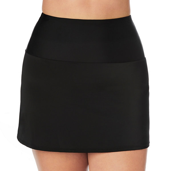St. John's Bay Swim Skirt Swimsuit Bottom Plus