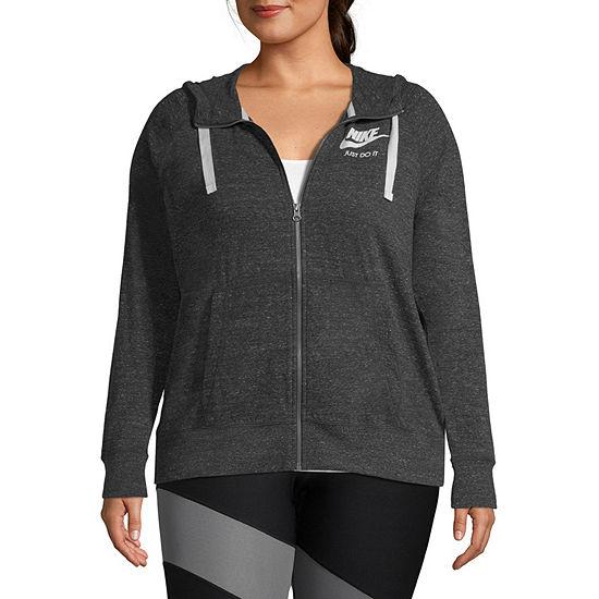 Nike® Women's Gym Vintage Full Zip - Plus