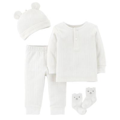 Carter's Little Baby Basics 4-pc. Layette Set-Baby Unisex