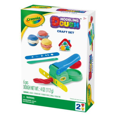 Crayola Craft Set Modeling Dough Kit