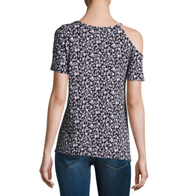 A.N.A Cutout One Shoulder Tee - Tall