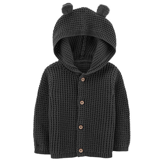 Carter's Boys Hooded Neck Button Cardigan Baby