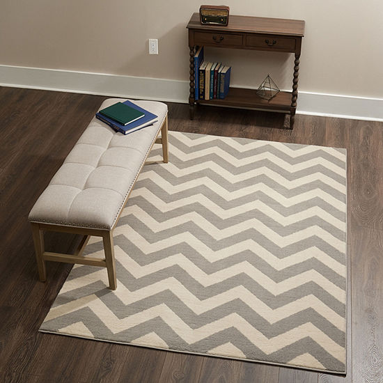 Home Dynamix Tremont Chevron Geometric RectangularRug