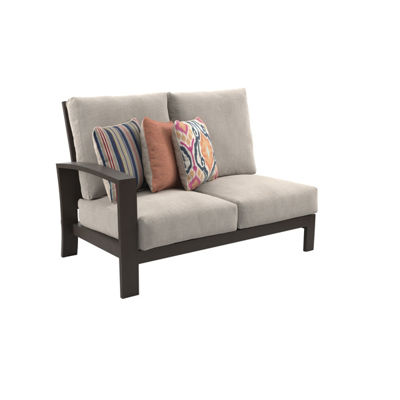 Outdoor by Ashley® Cordova Reef Left-Arm Facing Patio Loveseat with Cushion