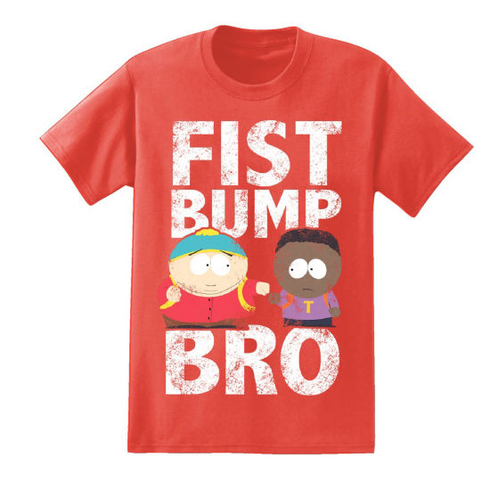 South Park Fist Bump Bro Graphic Tee