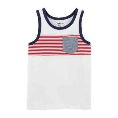 Oshkosh Sleeveless T-Shirt-Preschool Boys