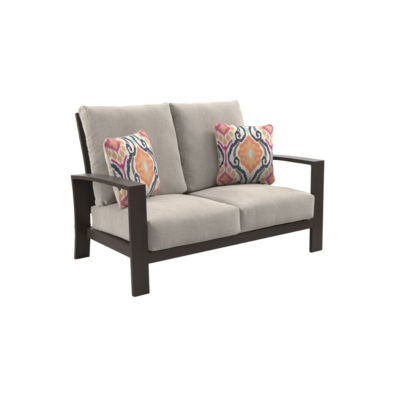 Outdoor by Ashley® Cordova Reef Patio Loveseat with Cushion