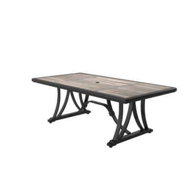 Outdoor by Ashley® Marsh Creek Patio Dining Table with Umbrella Option