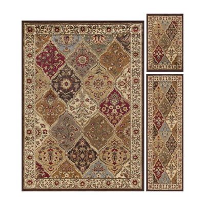 Tayse Elegance Cambridge Rectangle Rug Set