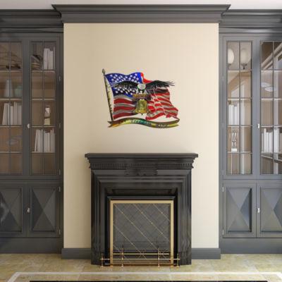 Patriotic Metal Wall Art American Pride