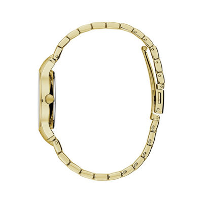 Caravelle Womens Gold Tone Bracelet Watch-44p101