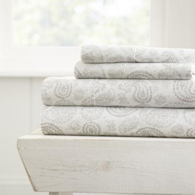 Casual Comfort™ Premium Ultra Soft Coarse Paisley Pattern Sheet Set