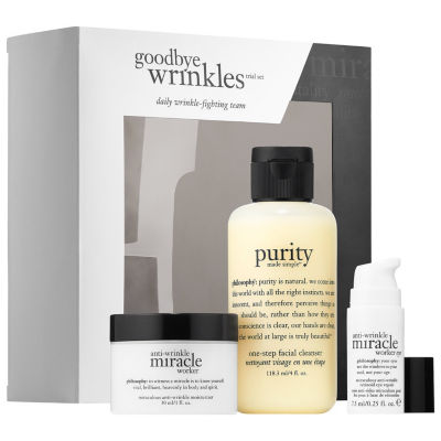 philosophy Miracle Worker Goodbye Wrinkles Trial Set