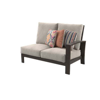 Outdoor by Ashley® Cordova Reef Right-Arm Facing Patio Loveseat with Cushion