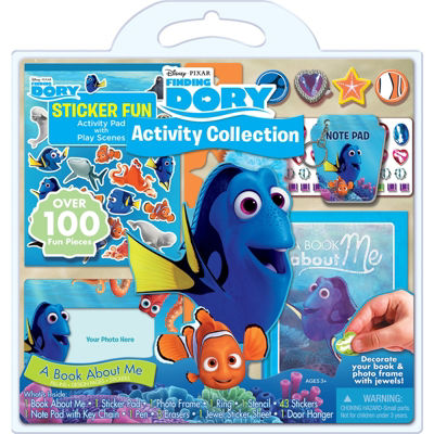 Bendon Disney Pixar Finding Dory 100 Piece Activity Set
