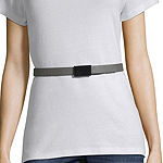 Liz Claiborne Plaque Womens Belt