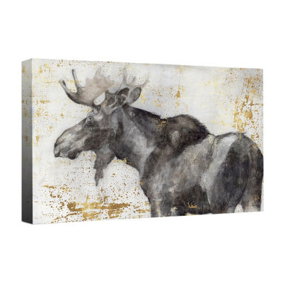 Alces Trail II Canvas Art