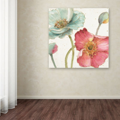 Trademark Fine Art Lisa Audit Spring Softies II Giclee Canvas Art