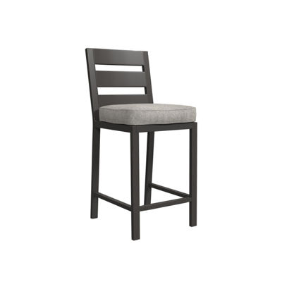 Outdoor by Ashley® Perrymount Set of 2 Patio Barstools with Cushions